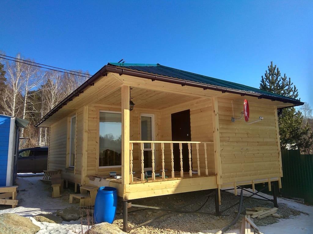 Фото и видео отчёт о строительстве каркасного дома по эскизу заказчика