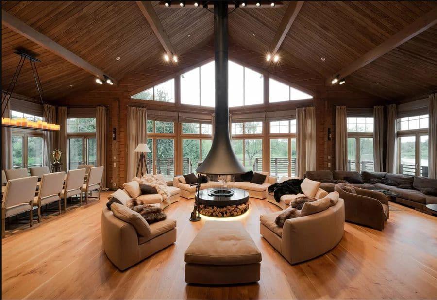 Комфортная высота потолка в каркасном доме